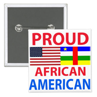 Proud African American Pin