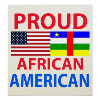 Proud African American Print