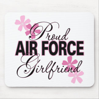 Proud Air Force Girlfriend Mouse Pad