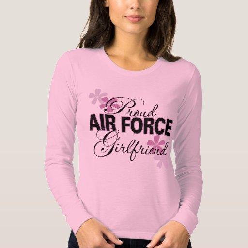 Proud Air Force Girlfriend Shirts 85