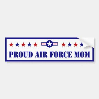 Proud Air Force Mom Car Bumper Sticker