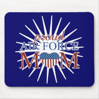 Proud Air Force Mom Mouse Pad