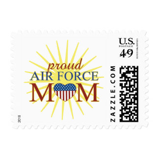 Proud Air Force Mom Postage