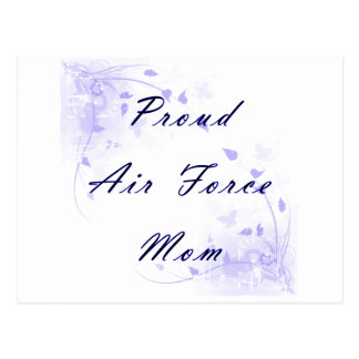 Proud Air Force Mom Postcard