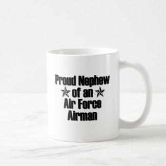 Proud Air Force Nephew Coffee Mug