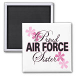 Proud Air Force Sister Refrigerator Magnets