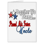 Proud Air Force Uncle Cards