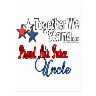 Proud Air Force Uncle Postcard