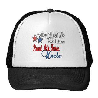 Proud Air Force Uncle Trucker Hat