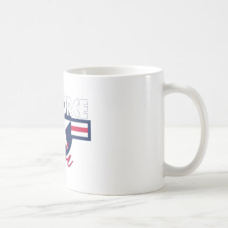 Proud Air Force Wife Coffee Mug