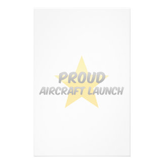 Proud Aircraft Launch Stationery