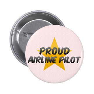 Proud Airline Pilot Pin