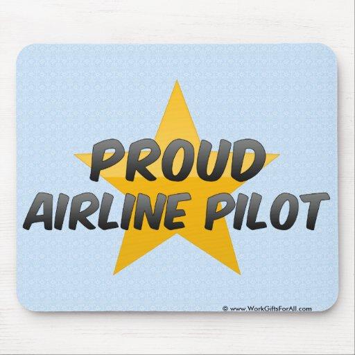 Proud Airline Pilot Mousepad
