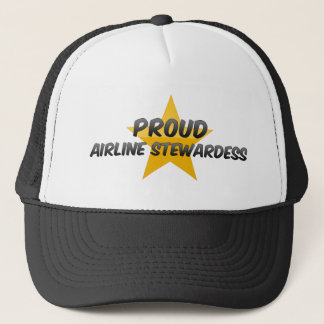 Proud Airline Stewardess Trucker Hat