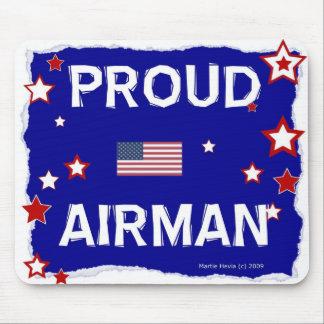 Proud Airman - In Honor - Mousepad