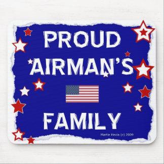 Proud Airman's Family - Mousepad