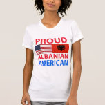 Proud Albanian American Shirts