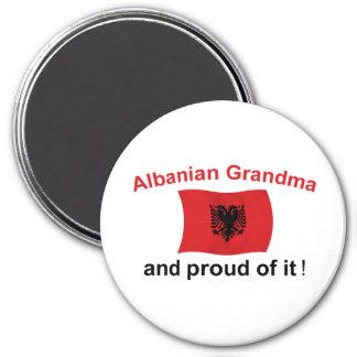 Proud Albanian Grandma 2 3 Inch Round Magnet