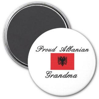 Proud Albanian Grandma 3 Inch Round Magnet