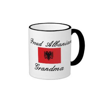 Proud Albanian Grandma Ringer Coffee Mug