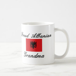 Proud Albanian Grandma Classic White Coffee Mug