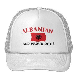 Proud Albanian Trucker Hat