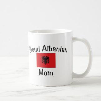 Proud Albanian Mom Classic White Coffee Mug