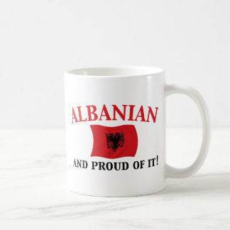 Proud Albanian Classic White Coffee Mug
