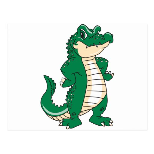Proud Alligator Postcard