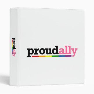 Proud Ally Light Avery Binder