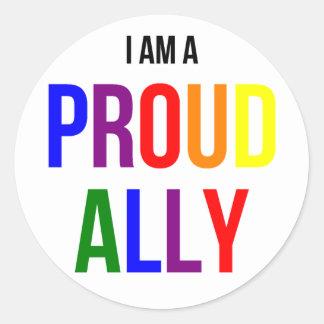 Proud Ally Sticker