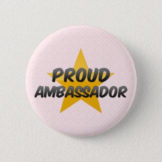 Proud Ambassador Pinback Button