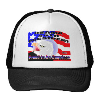 Proud American Barack Obama Trucker Hat