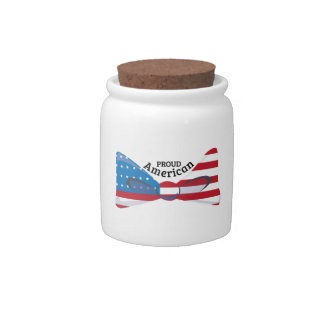 Proud American Candy Dish
