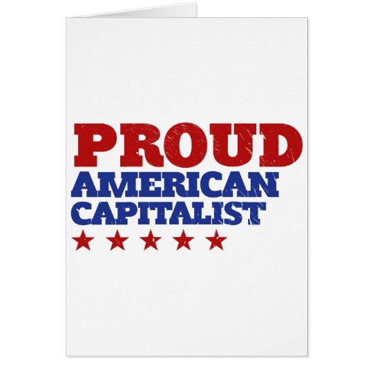 Proud American Capitalist Card