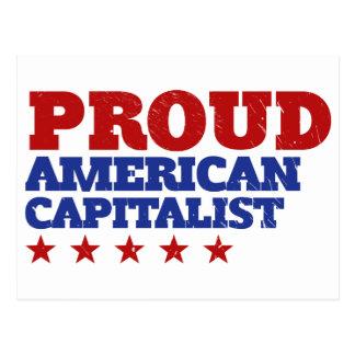 Proud American Capitalist Postcards