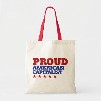 Proud American Capitalist Tote Bag