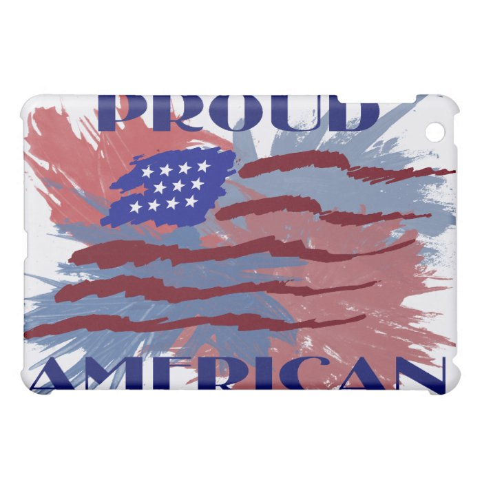 PROUD AMERICAN  CASE FOR THE iPad MINI