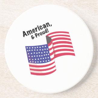 Proud & American Beverage Coasters