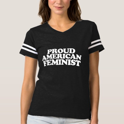 Proud American Feminist T-shirt