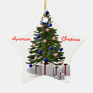 Proud American Home Christmas Ornament