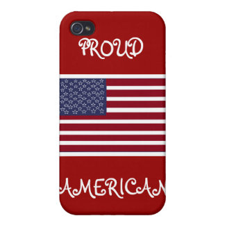 PROUD AMERICAN iphone Case Cover For iPhone 4