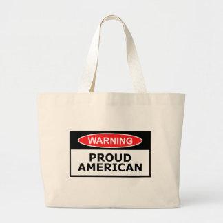 Proud American Large Tote Bag