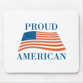 Proud American Mouse Mat