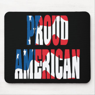 Proud American Mouse Pad