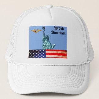 PROUD AMERICAN PATRIOTIC cap
