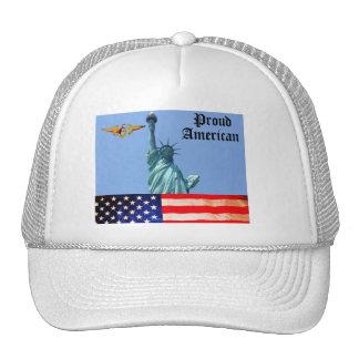 PROUD AMERICAN PATRIOTIC cap Trucker Hat