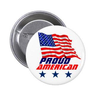 Proud American Pinback Button