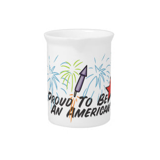 Proud American - Drink Pitcher