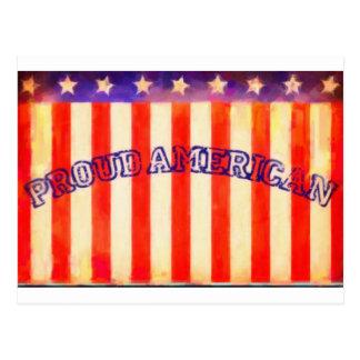 Proud American Postcard